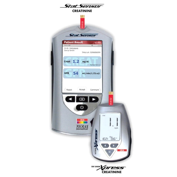 Analizatory do pomiaru kreatyniny Nova Biomedical StatSensor Creatinine Meter