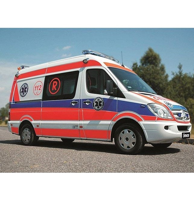 Ambulanse MEDFinance - MEDambulans Mercedes-Benz Sprinter (163 KM)