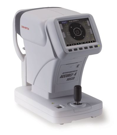 Autorefraktometry (autokeratorefraktometry) Shin-Nippon ACCUREF-K 9003D