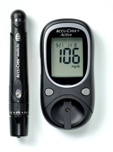 Glukometry Roche Accu-Chek Active