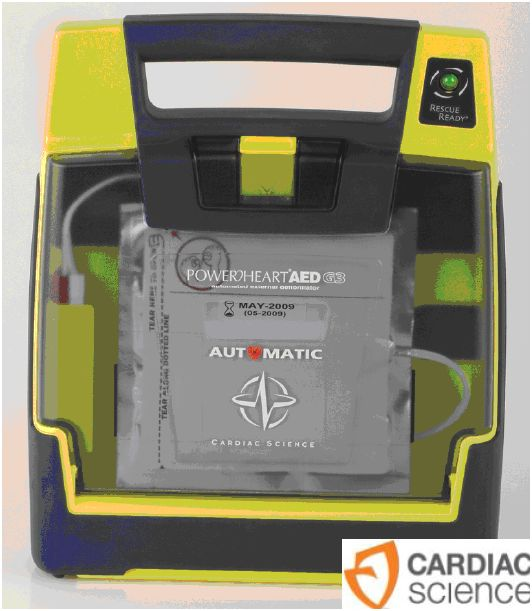 Defibrylatory AED Cardiac Science Powerheart AED G3 Automatic