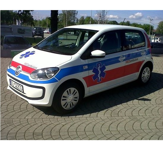 Ambulanse MEDFinance - MEDambulans Volkswagen UP