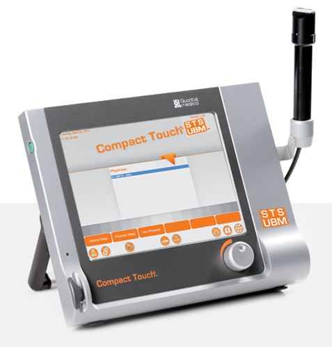 Ultrasonografy okulistyczne Quantel Medical Compact Touch STS UBM