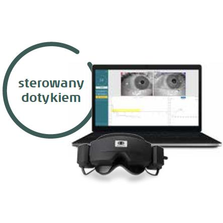 Wideonystagmografy - VNG Interacoustics Micromedical VisualEyes 515/525